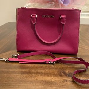 Michael Kors large handbag Shoulder bags pink